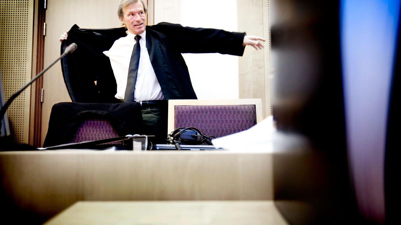 Advokat Frode Sulland.