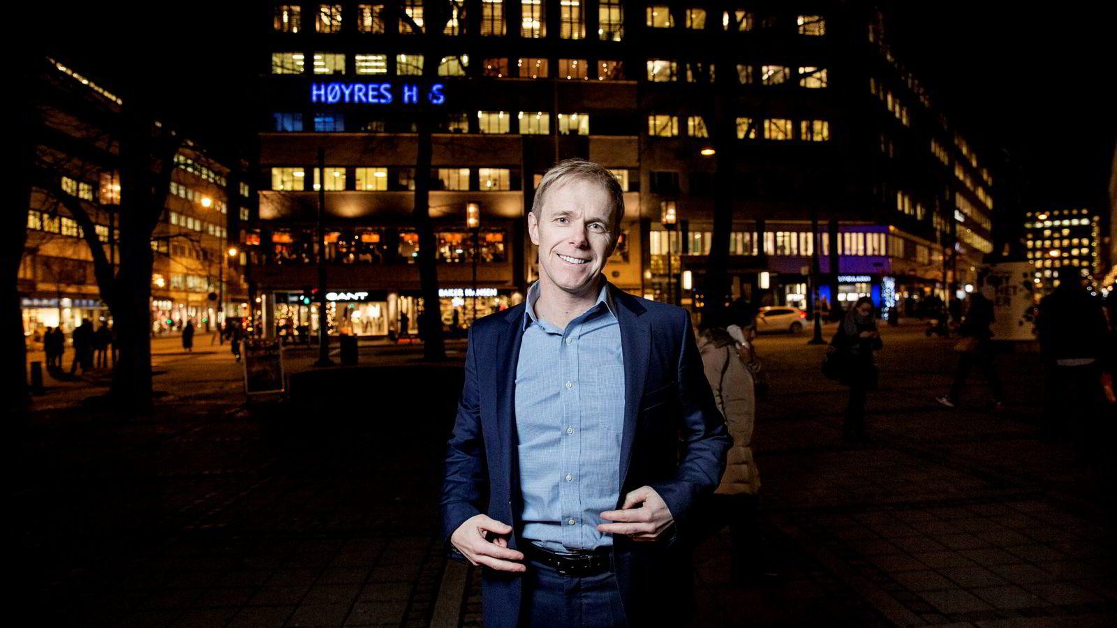 Telenors oppkjøp fremstår ikke som verdiskapende for aksjonærene, sier porteføljeforvalter Lars Odin Mellemseter. Bildet er tatt i 2015.