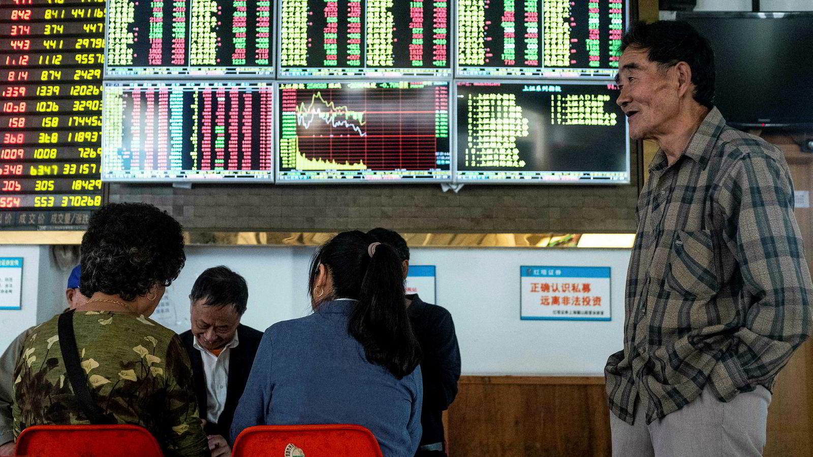 Shanghai-børsen har startet med den største oppgangen i historien i 2019. Forhandlinger mellom USA og Kina for å få løst handelskrigen har gitt investorer en ny optimisme.