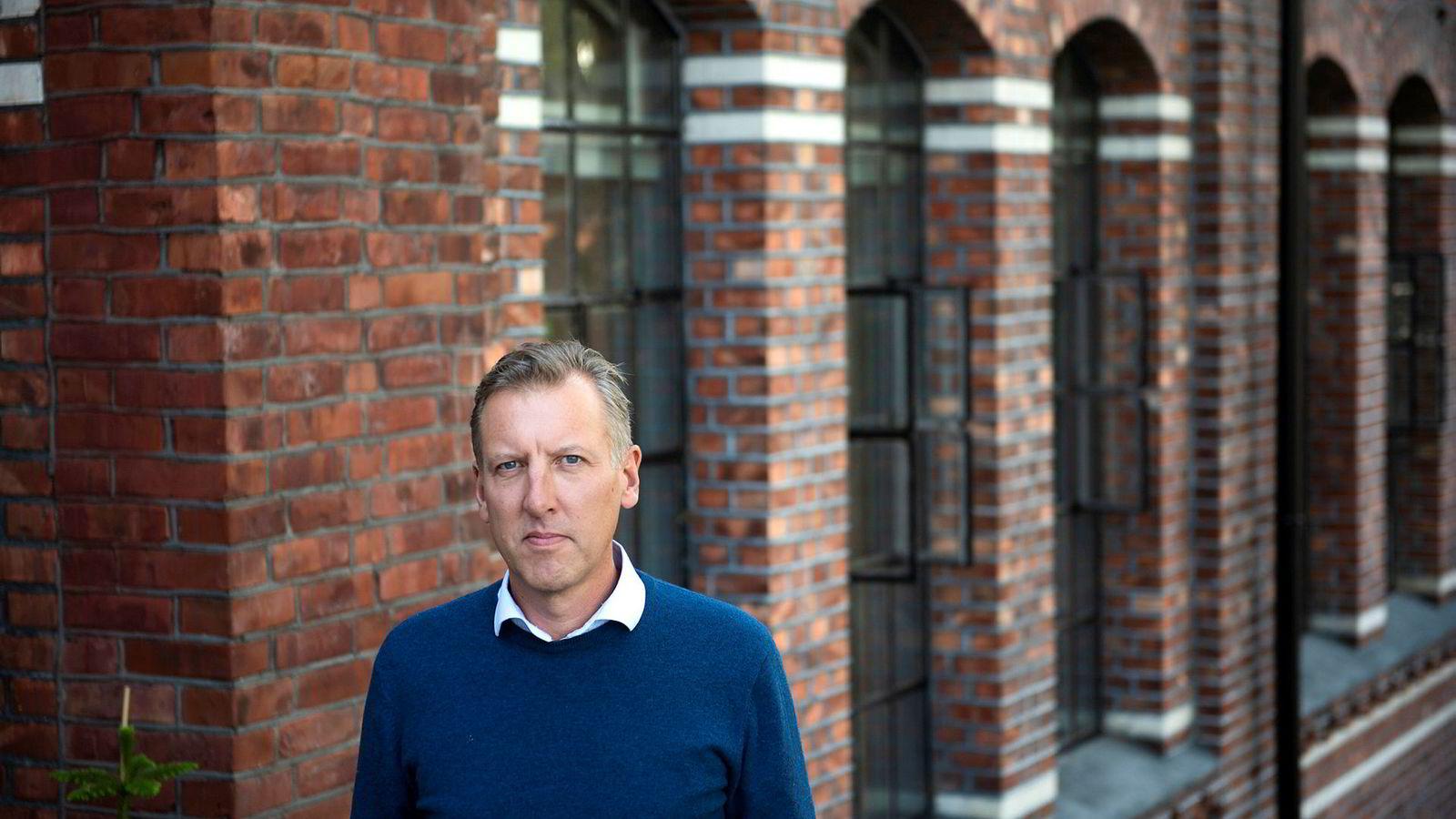 Andreas Mollatt, daglig leder i helseteknologiselskapet Otivio, er blant dem som frykter et krav om tilbakebetaling av Skattefunn-støtte etter regelforvirring hos norske myndigheter.