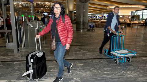 Sølvi Tørset (60) fra Molde skulle reise med flyet klokken 07.20 til Hellas i dag.