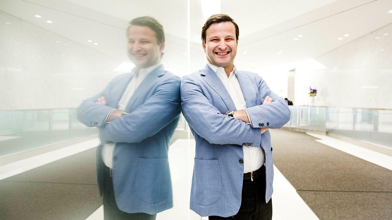 Are Traasdahl (bilde) og medgründer Dag Liodden åpner Oslo-kontor. Her iNew York.