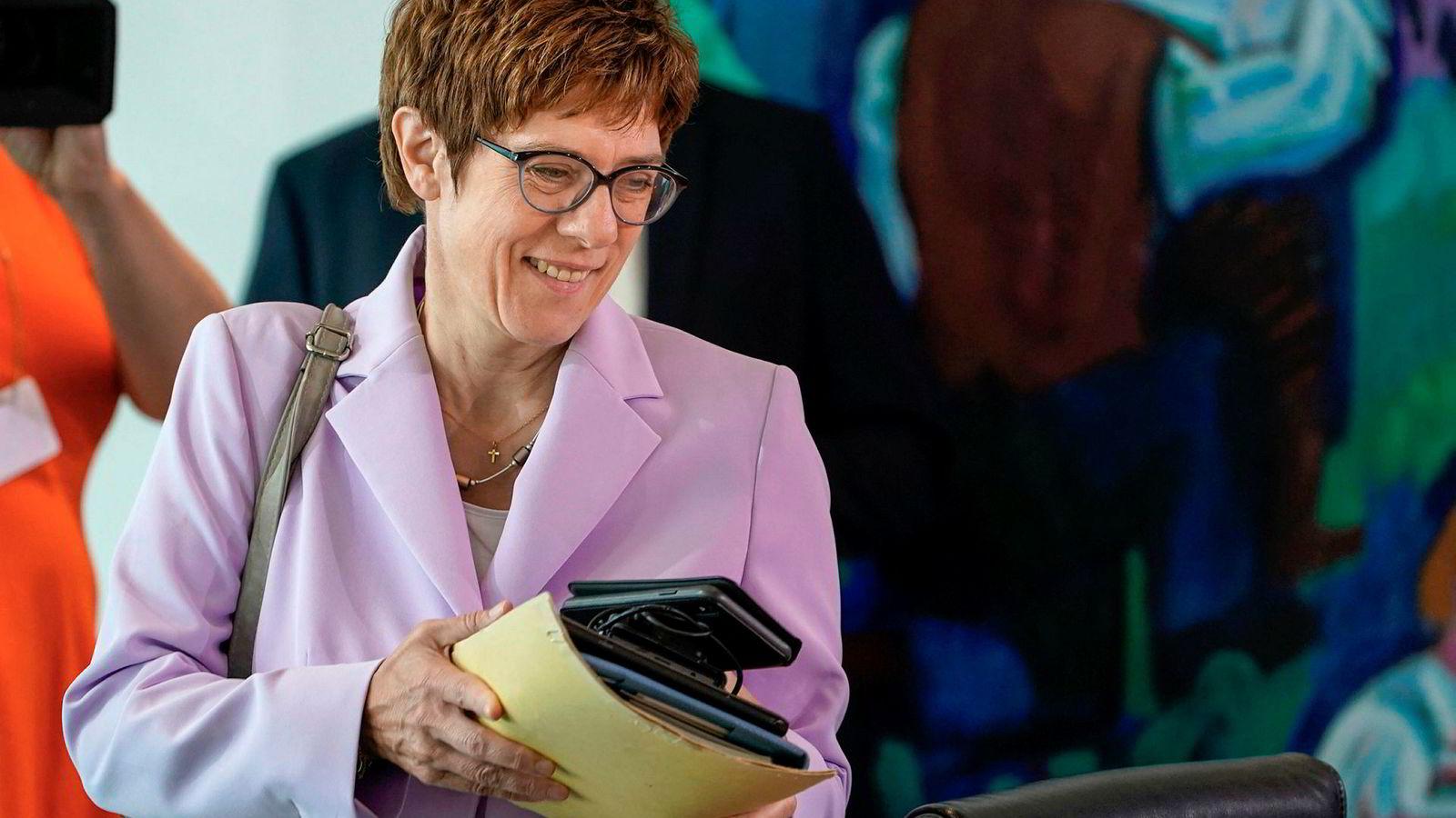 Sist helg varslet Annegret Kramp-Karrenbauer, kristeligdemokratenes partileder, en betydelig omlegging av landets skattesystem. Måleter å å få ned Tysklands klimautslipp.