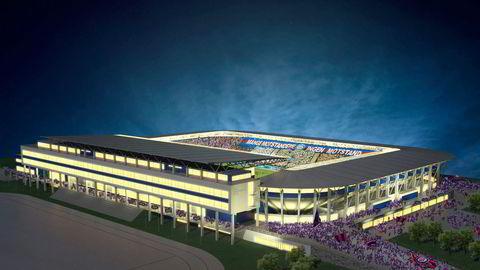Vålerenga Fotball håper å kunne starte byggingen av sitt stadion kommende sommer, med ferdigstillelse sommeren 2017. Illustrasjon: Pål T. Rørby/Stor-Oslo Prosjekt