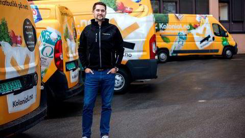 Mens Rema kjøper matkasse-leverandøren Kolonihagen står samarbeidspartner Kolonial.no foreløpig på egne ben. - Rema har ikke forkjøpsrett, sier Kolonial-gründer Karl Alveng Munthe-Kaas. Foto: