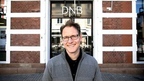 – Å kunne bruke historikk fra andre banker som forhandlingskort er veldig interessant, sier Trond Henrik Sand, som er i ferd med å bytte bank. Foreløpig er det DNB som frister mest.