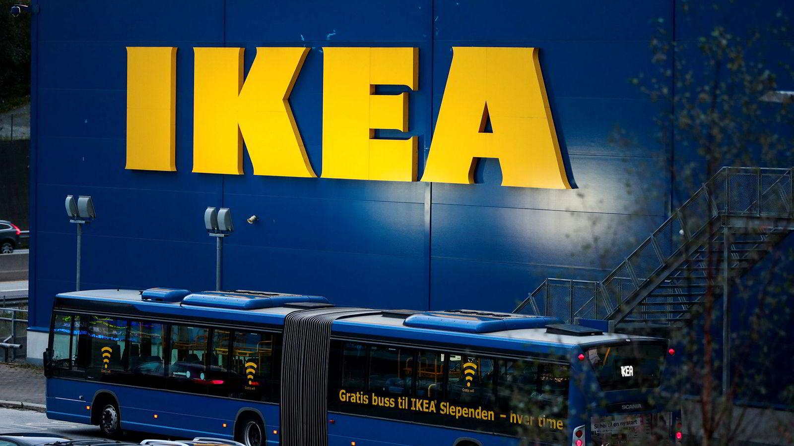Ikea er den mest populære merkevaren blant norske kvinner, ifølge en undersøkelse fra YouGov.
