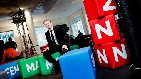 Kommunikasjonsdirektør Discovery Networks i Norge og i Sverige, Espen Skoland. Foto: Brian Cliff Olguin