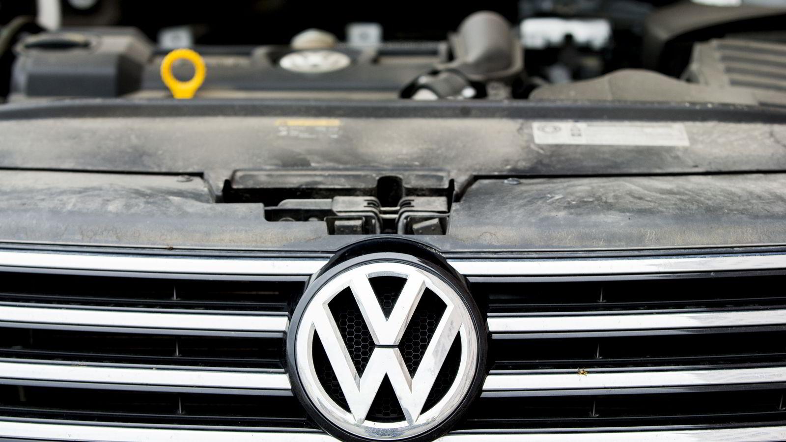 Tysk påtalemyndighet har startet etterforskning etter juks med CO2-utslipp fra VW-biler. Foto: Vegard Wivestad Grøtt /