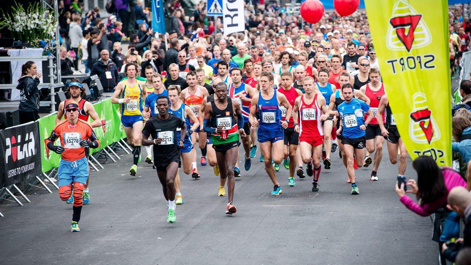 KUN 500 PLASSER IGJEN: Planlegger du å løpe maratondistansen i Oslo Maraton i år må du snart bestemme deg, det er bare 500 plasser igjen.