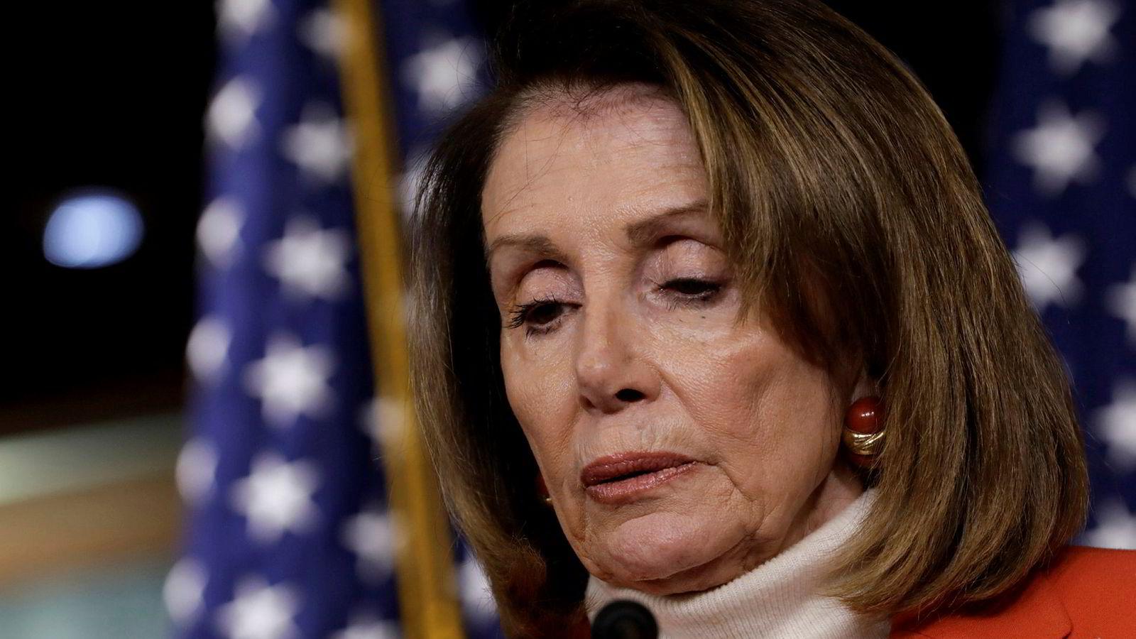 Nancy Pelosi får kamp om å bli leder i Representantenes hus.