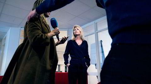 Westerdals, her ved rektor Tine Widerøe, har gitt tidligere elever frist til midnatt torsdag til å godta forlikstilbudet. Foto: Skjalg Bøhmer Vold