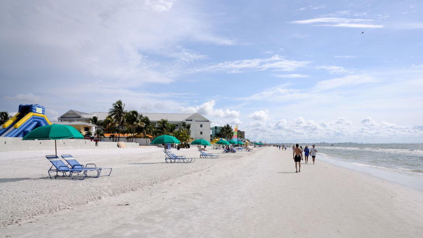 Florida blir billigere for nordmenn - i alle fall flyreisen dit.