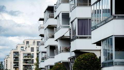 Boligprisene falt med 1,1 prosent nominelt i september viser ferske tall fra Eiendom Norge.