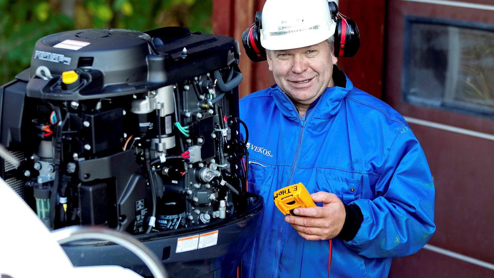Skipselektriker Eigel Ingvar Thom har i 2018 fått en papirgevinst på rundt 16 millioner kroner for sine to investeringer på Oslo Børs.