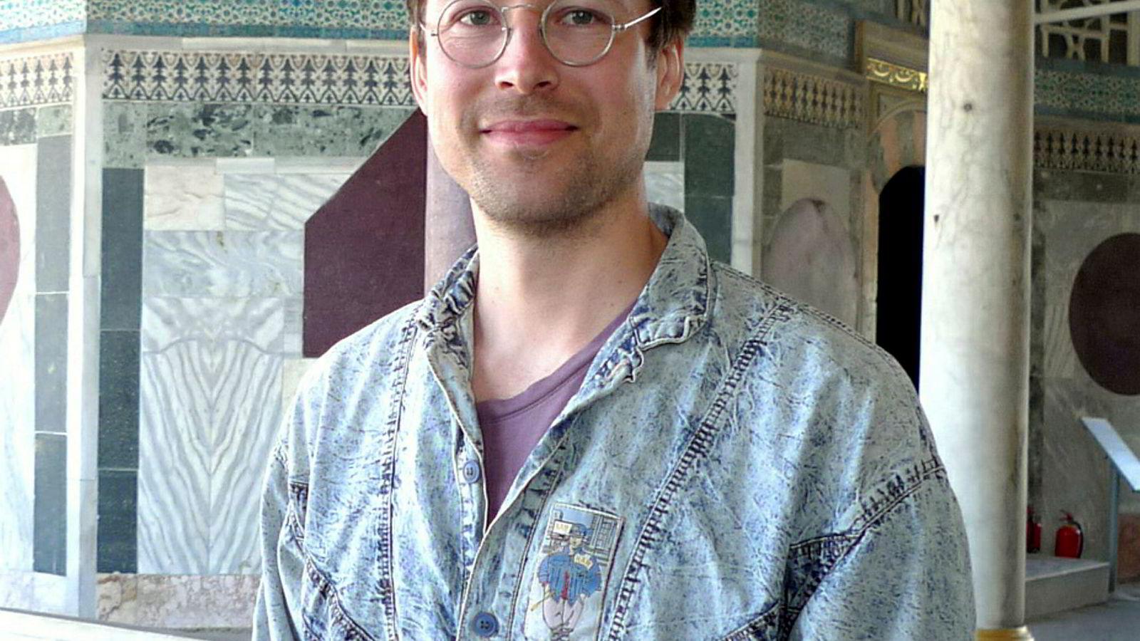 Martin Erntsen, tegneserieskaper.