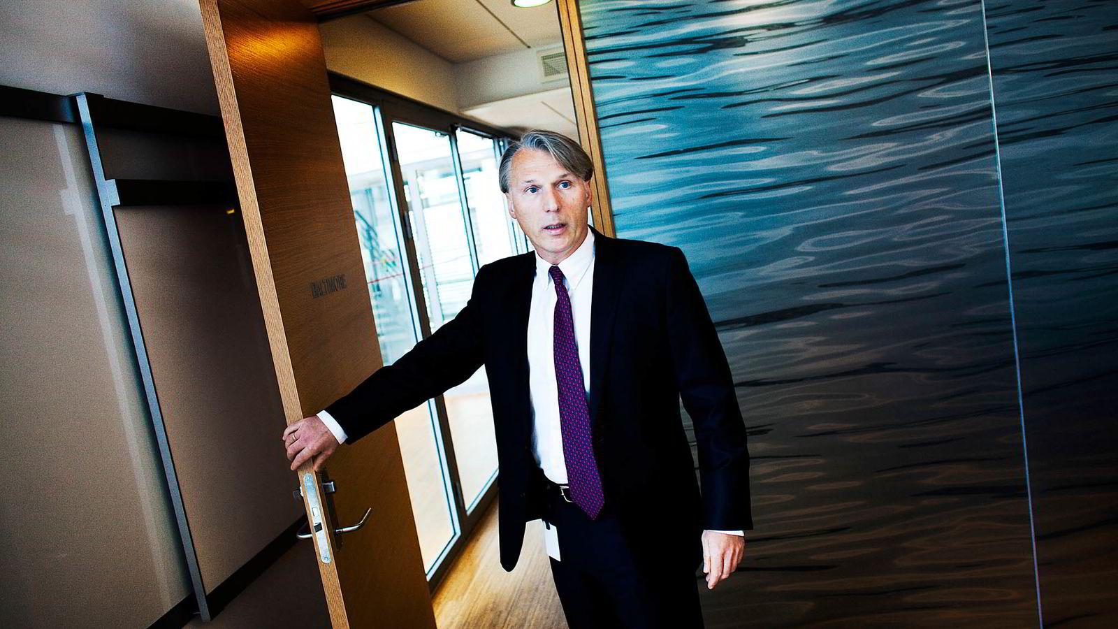 Höegh LNG-sjef Sveinung J.S. Støhle tenker fortsatt vekst.