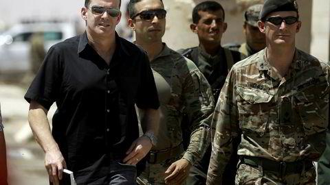 Tidligere spesialutsending Brett McGurk (til venstre) mener president Donald Trumps Syria-politikk vil føre til økt terrorfare.