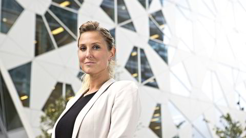 Sjefstrateg Erica Blomgren i SEB. Foto: Charlotte Wiig