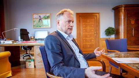 Bilde av Byrådsleder Raymond Johansen.
