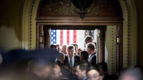 Senatet utsetter avgjørelsen om helsereformen som skal erstatte Obamacare.