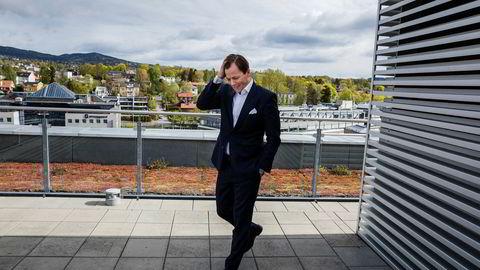 Norske Skogs nye toppsjef Lars P. Sperre har hatt ansvaret for en økonomisk redningsplan i selskapet og tror på en løsning med obligasjonseiere i løpet av året. Foto: Per Thrana