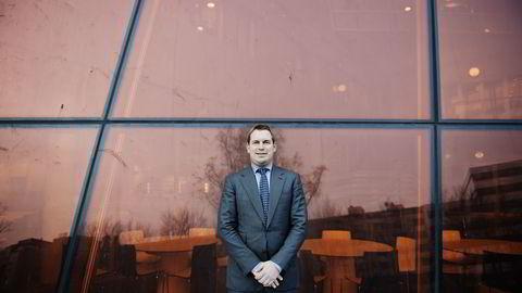 PRISGITT FAREN OG TANTEN. Pumpearving Frederik W. Mohn er i mindretall i holdingselskapet som mottar 13 milliarder kroner for salget av kjernevirksomheten i Frank Mohn-konsernet. Foto: Hampus Lundgren