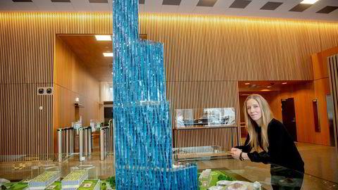 Nina Jensen vil nå bygge Kjell Inge Røkkes tårn i Bergen.
