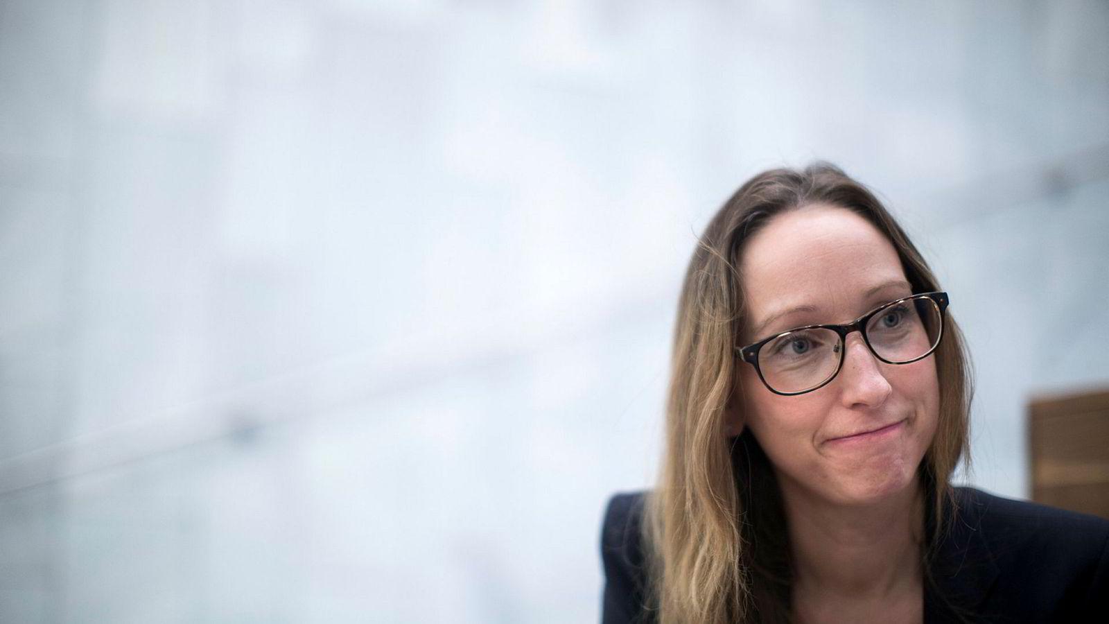 Selv om prisveksten var litt høyere enn sjeføkonom Kjersti Haugland hadde forventet, mener hun vi ikke er tilbake på den friske veksttakten man så i første halvår.