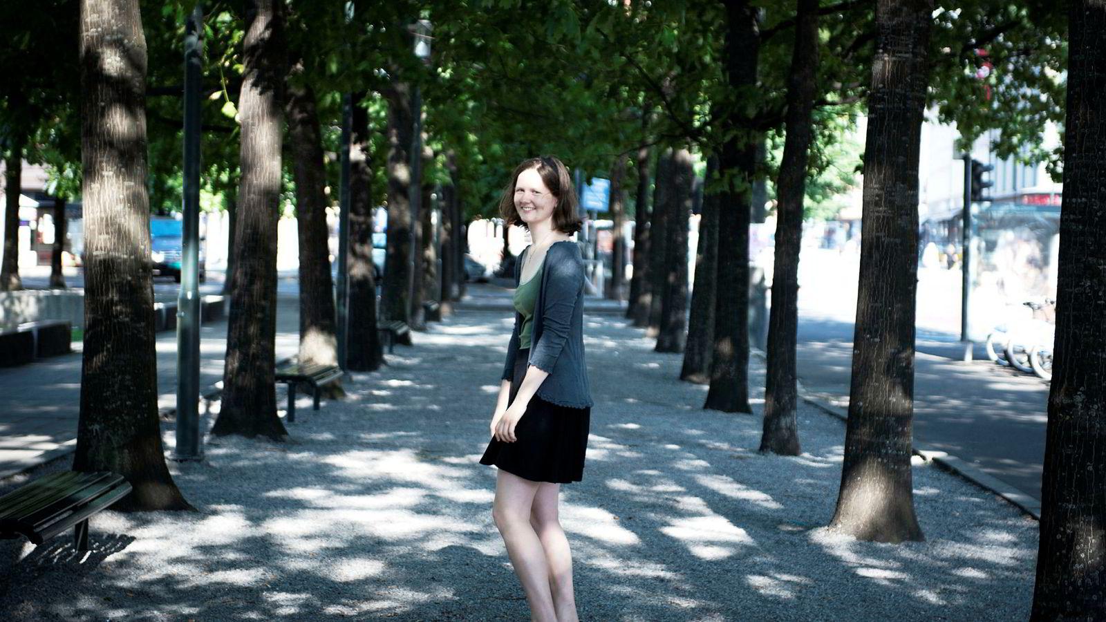 Hildegunn Telhaug (22) har kommet inn på det nye bachelorstudiet på Universitetet i Oslo (UiO) i digital økonomi og ledelse.