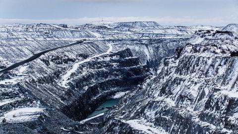 DNB taper om lag 850 millioner kroner på konkursen i Sydvaranger Gruve ved Kirkenes.                    Foto: Marius Fiskum