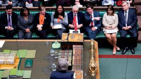 Det tynnes ut på Labour-benken i det britiske Parlamentet.