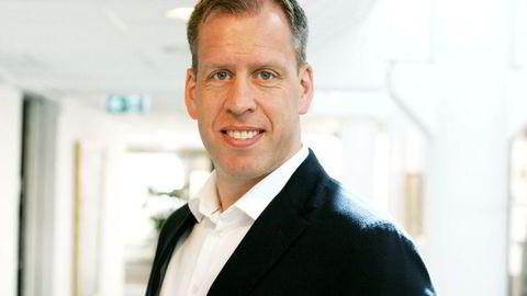 Lars Olav Olaussen, toppsjef i Komplett.