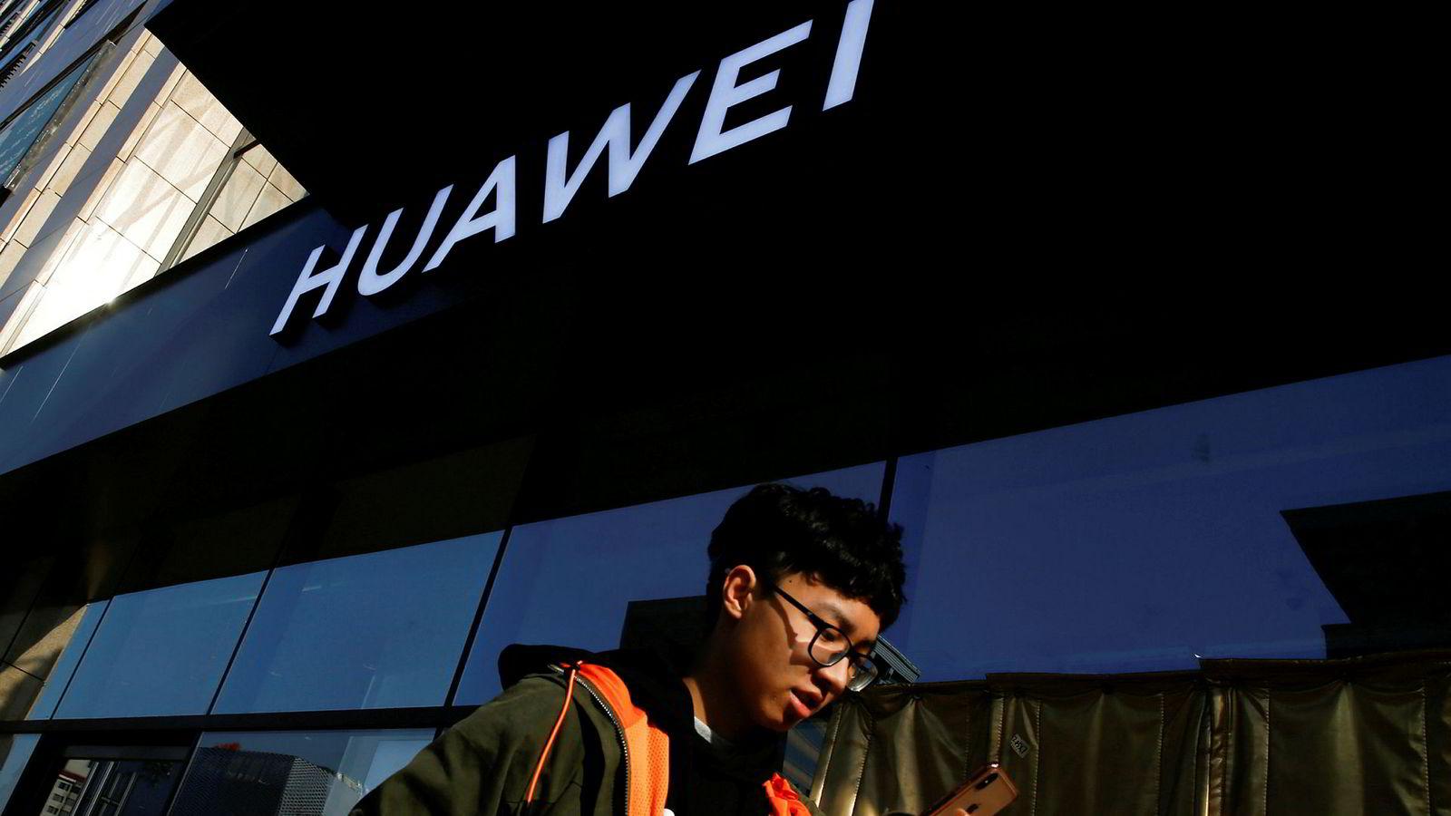 PST mener det er sikkerhetsmessig problematisk å la kinesiske Huawei bygge mobilnett i Norge.