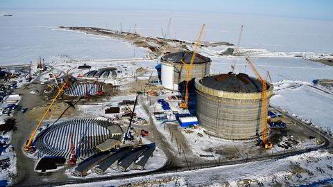 Vestlige sanksjoner og mangel på utstyr gjør at Russland må utsette nye leteprosjekter. Det gjelder særlig offshoreprosjekter, som her i Karahavet. Foto: Kirill Kudryavtsev, AFP/NTB Scanpix