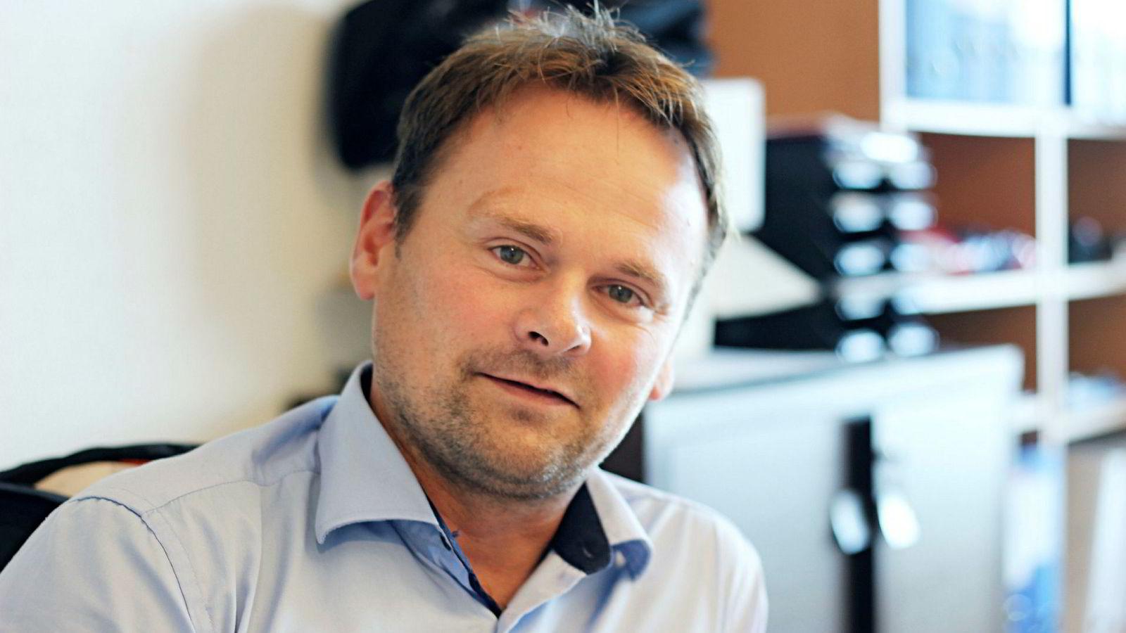 Svein-Gustav Sinkaberg, konsernsjef i Sinkaberg-Hansen sier at 2018 er en retur til normalen etter et svakt 2017.