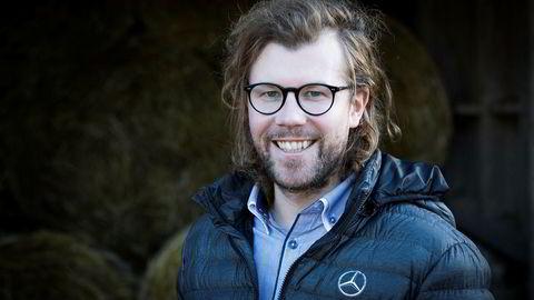 Audun Hermansen, kommunikasjonssjef for Mercedes i Bertel O. Steen.