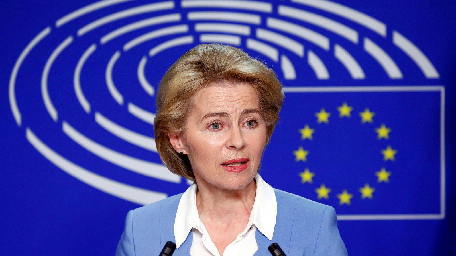 Tyske Ursula von der Leyen (60) kan bli første kvinnelige president i EU-kommisjonen.