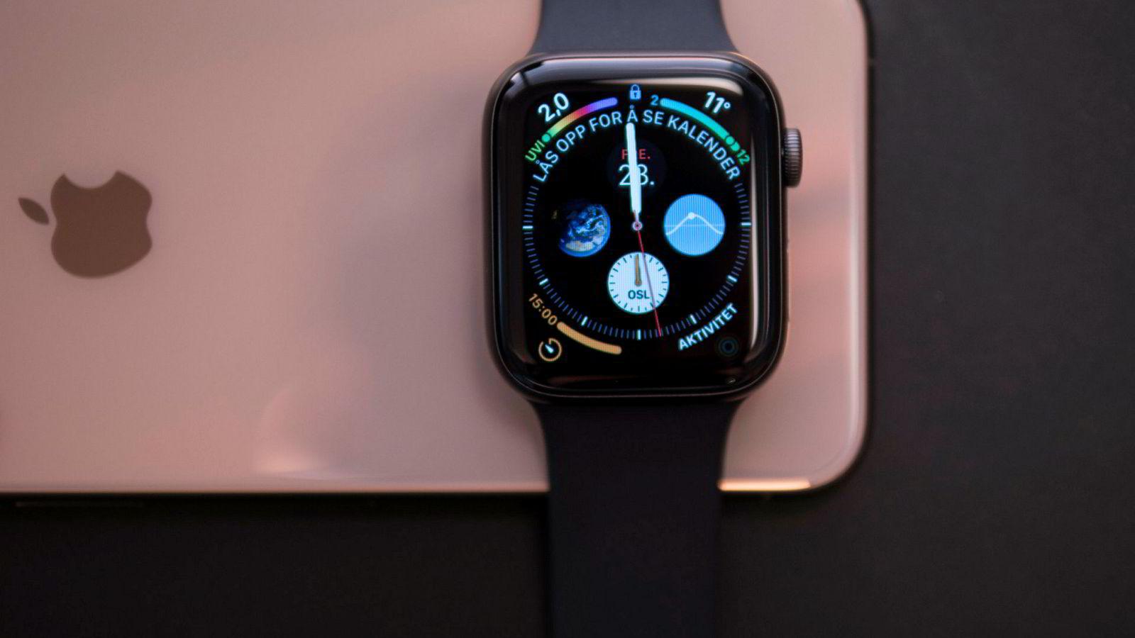 Apple Watch 4 har cirka 30 prosent større skjerm enn forgjengerne. Men den viktigste nyheten er ikke kommet ennå.