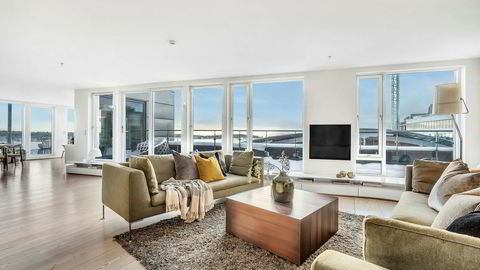 Krafttrader Einar Aas selger nå leiligheten på Strandpromenaden 5 på Tjuvholmen i Oslo for 70 millioner kroner.