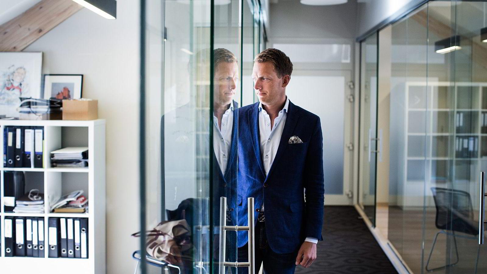 – Å gjennomføre et arrangement er som en live-eksamen, hvor vi har fokus på høy kvalitet, sier daglig leder Jan Axel Syberg i Off Piste. Foto: