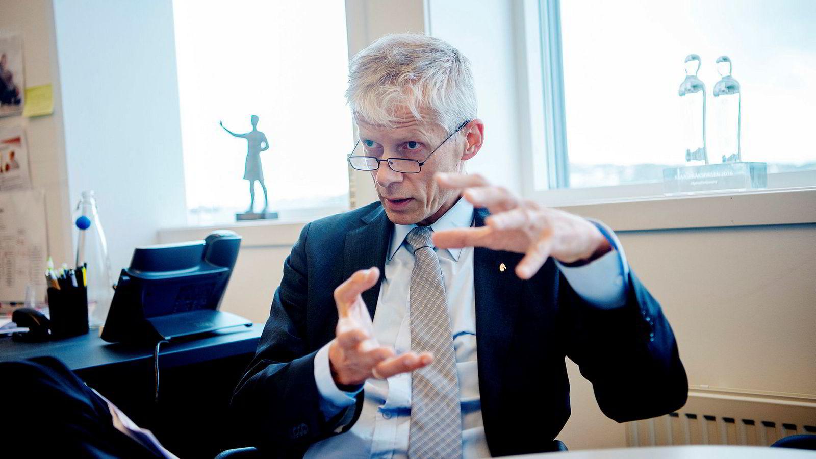 – Det er et område hvor etterlevelsen er relativt lav, sier Skattedirektør Hans Christian Holte om andelen nordmenn som har rapportert inn sin kryptoformue.
