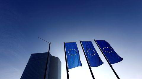 Den europeiske sentralbankens (ECB) hovedkontor. Foto: