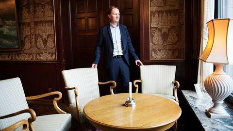 Konsernsjef Lars Peder Solstad i rederiet Solstad Farstad tror markedet kan ha bunnet ut og at aktivitetsnivået vil vokse fremover.