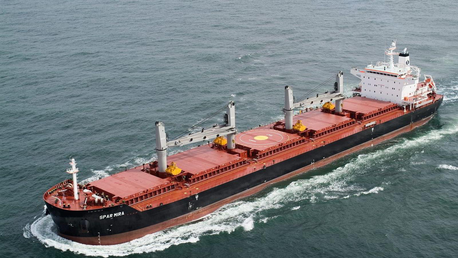 Ved utgangen av fjoråret hadde Spar shipping en bokført egenkapital på 394 millioner dollar.