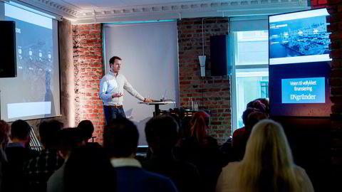 Gründer Patrik Berglund forteller om strategi, forhandlingsteknikk og fellene å passe seg for i arbeidet med å hente 100 millioner kroner.