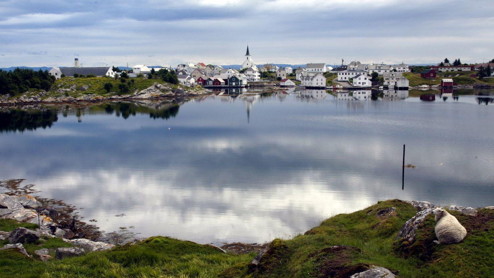 Den lille kommunen i havgapet, Fedje, er Norge «eldste» kommune. Foto: Gorm Kallestad/Scanpix.