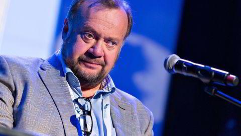 Marvin Wiseth, Høyre-politiker og tidligere ordfører i Trondheim. Her under en konferanse for Næringsforeningen i Trondheim. Foto: Ole Morten Melgård