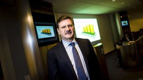 Administrenede direktør Martin Burkhalter i Vizrt er fornøyd med første halvår.