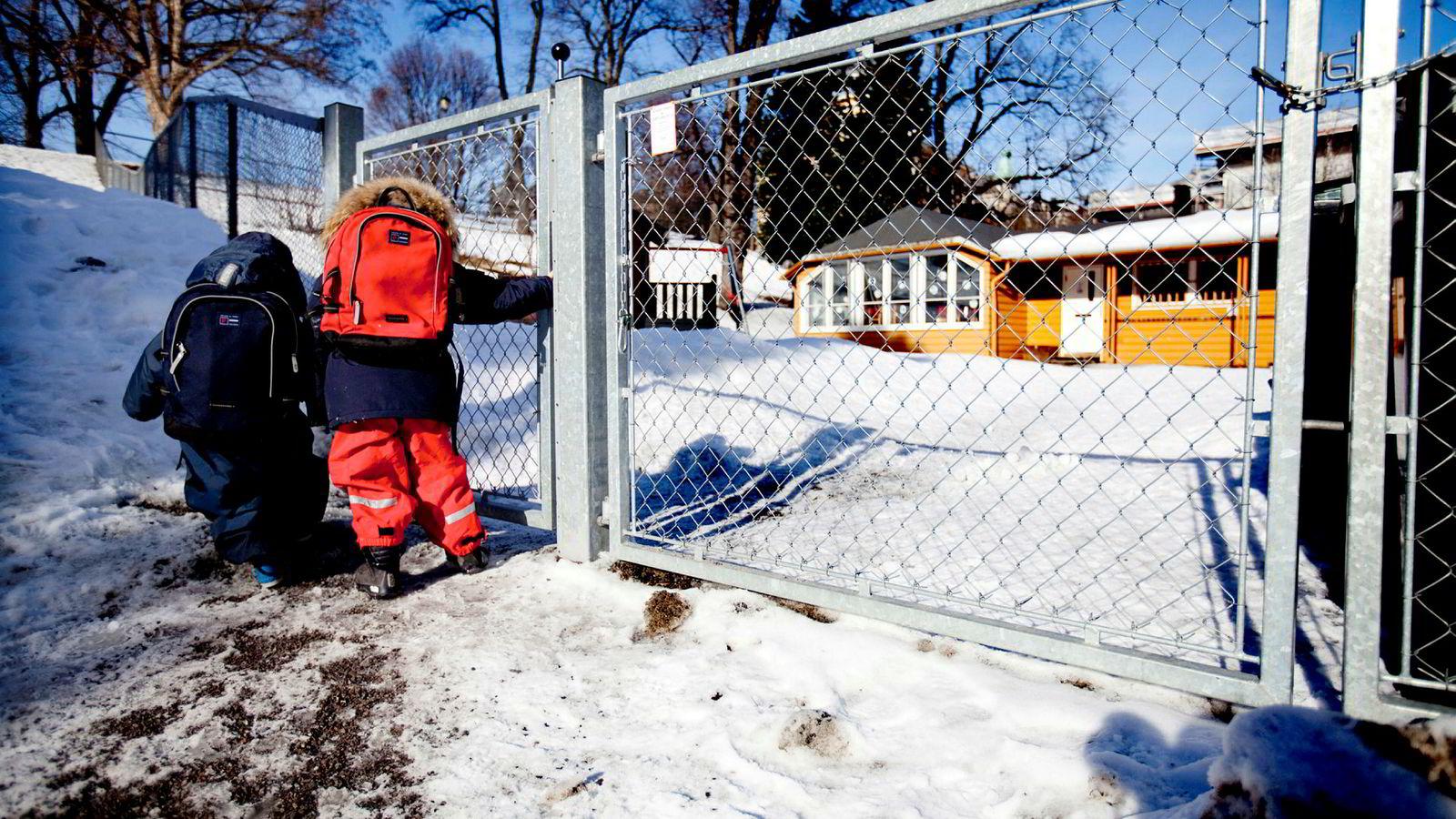 Færre barn som må følges til barnehagen kan være et resultat av at norsk likestillingspolitikk har vært vellyket. Men en politikk som ikke gir kvinner incentiv til å ville få et for samfunnet tilstrekkelig antall barn, er ikke bærekraftig på lang sikt.